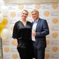 Церемония открытия «Клиники Елены Байбариной»