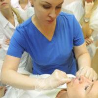 Елена Байбарина (Тимошенко) «Индивидуальный подбор формы губ, в зависимости от изотипа лица. Возможность изменения формы лица за счет формы губ.»